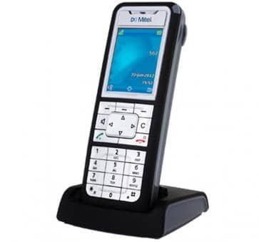 "Mitel 612d DECT phone with colour 2"" TFT display"
