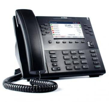 "Mitel 6869 SIP phone with 4,3"" color backlit LCD display"