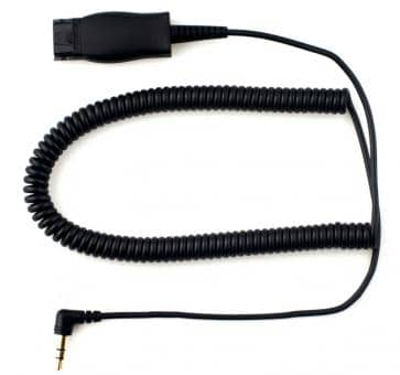 Addasound adaptor cable 2.5mm jack with QD DN1005