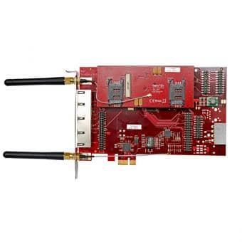 beroNet BF4004GSM 2x BF2GSM PCI Gateway