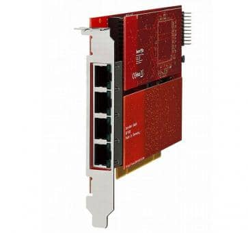 beroNet BF64004E1e beroNet Gateway PCIe BNBF6400 + 2x BNBF2E6