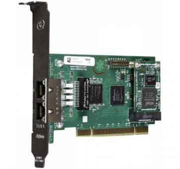 Digium TE236B dual Span T1/E1/J1 2xPRI card PCI + HW EC