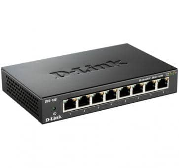 D-Link DGS-108 8x 10/100/1000Mbit Switch