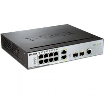 D-Link DGS-3000-10TC 8x 10/100/1000BASE-T 2x 10/100/1000BASE-T/SFP Switch