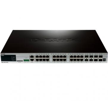 D-Link DGS-3420-28PC 20x 10/100/1000BASE-TX PoE 4x 1000Base-T/SFP 4x SFP+ L2 Switch