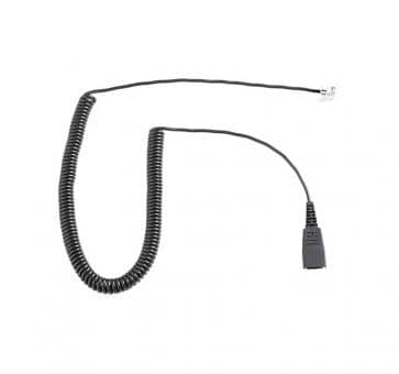 freeVoice FC-AG cord with QD and RJ45 curled 8800-01-94-FRV