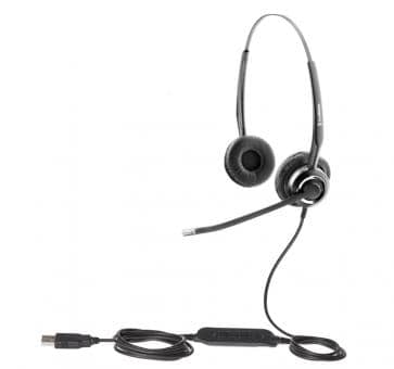 freeVoice SoundPro 410 Headset USB UC Duo FSP420UCM SfB