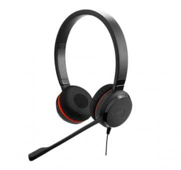 Jabra Evolve 30 II MS Duo Headset USB Klinke 5399-823-309