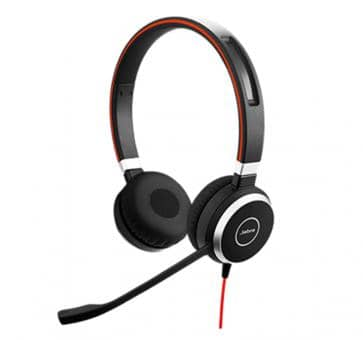 Jabra Evolve 40 MS Duo Headset 6399-823-109