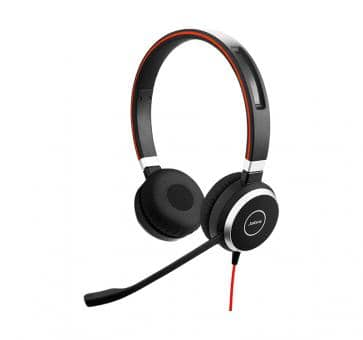 Jabra Evolve 40 UC Duo Headset USB-C 6399-829-289
