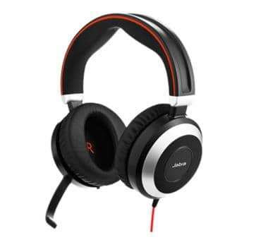 Jabra Evolve 80 UC Duo Headset 7899-829-209