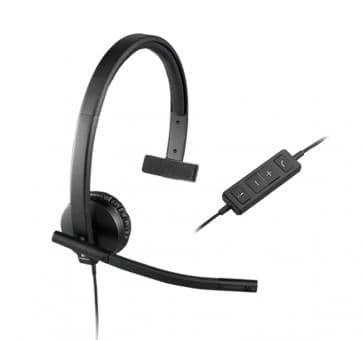 Logitech H570e Headset Mono USB