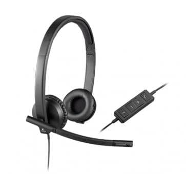 Logitech H570e Headset Stereo USB