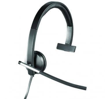 Logitech H650e Headset Mono USB