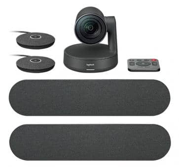 Logitech Rally Plus Ultra-HD Videokonferenzsystem 960-001224