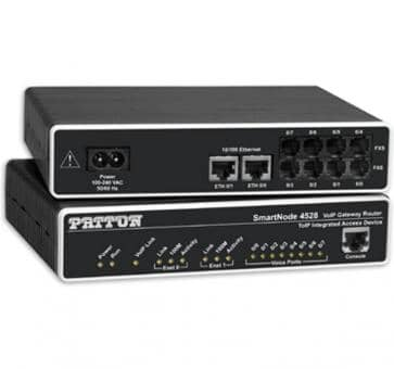 Patton SmartNode 4528 8x FXS VoIP Gateway Router SN4528/JS/EUI