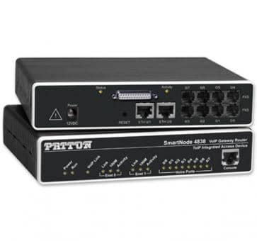 Patton Inalp SmartNode 4830 Series / SN4838/4JS4JOD/EUI