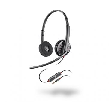 Plantronics Blackwire 225 Headset Klinke Duo NC 205204-02