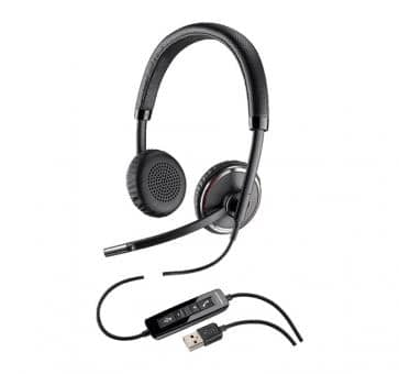 Plantronics Blackwire C520-M Stereo USB Headset 88861-02