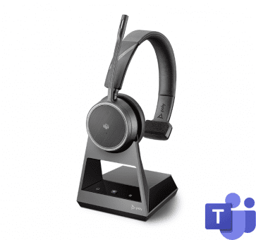 Poly Plantronics Voyager 4210 Office Headset Mono USB-A Teams Bluetooth 214002-05