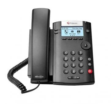 Polycom VVX201 IP phone PoE (no PSU) 2200-40450-025