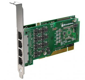 Sangoma A104 4 Ports PRI PCI