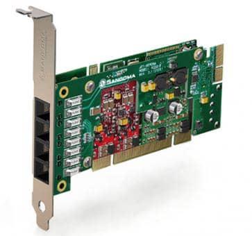 Sangoma A200BRMD Basecard PCI + HW EC