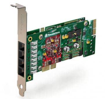Sangoma A200BRME Basecard PCIe