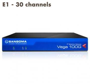 Sangoma Vega 100 Gateway E1 - 30 channels