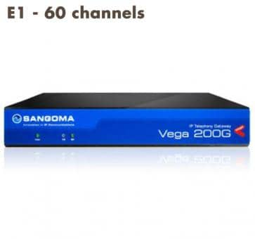 Sangoma Vega 200 Gateway E1 - 60 channels