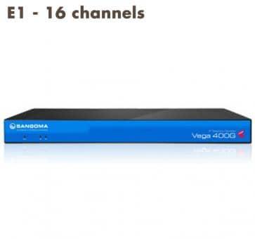 Sangoma Vega 400 Gateway E1 - 16 channels