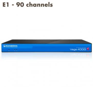 Sangoma Vega 400 Gateway E1 - 90 channels