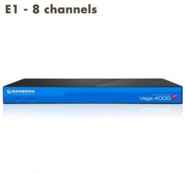Sangoma Vega 400 Gateway E1 - 8 channels