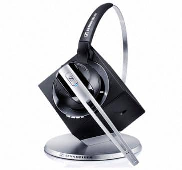 Sennheiser DW Office DECT Headset USB Skype For Business 504466