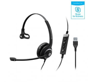 Sennheiser SC230 Headset Mono USB Skype for Business 506482