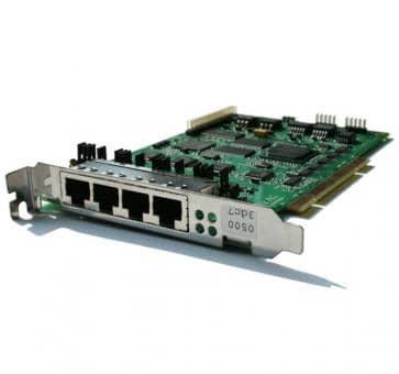Sirrix PCI4S0EC 4 BRI S0 Card  with HW DSP EC Modul