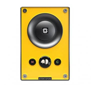 Scanvest AIP43001 TCIS-1 IP Turbine yellow 3 Buttons