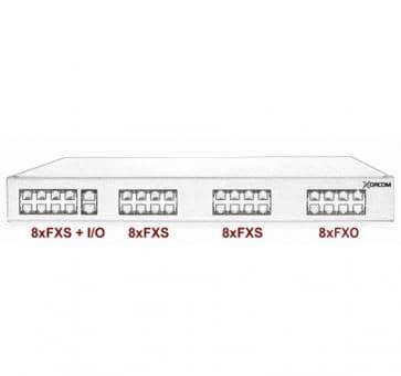Xorcom Astribank - 24 FXS + 8 FXO - XR0009