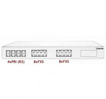 Xorcom Astribank - 4 PRI + 16 FXS - XR0061