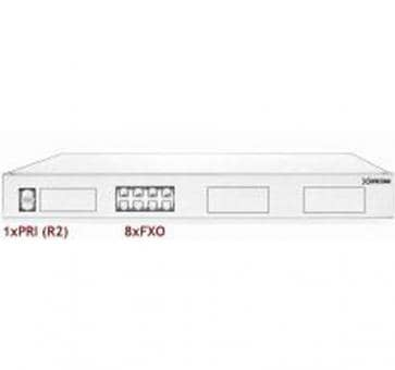 Xorcom Astribank - 1 PRI + 8 FXO - XR0069 - 1U