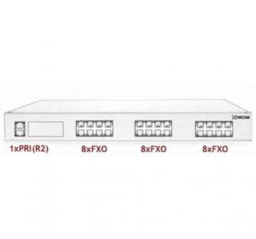 Xorcom Astribank - 1 PRI + 24 FXO - XR0071
