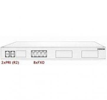 Xorcom Astribank - 2 PRI + 8 FXO - XR0075 - 1U