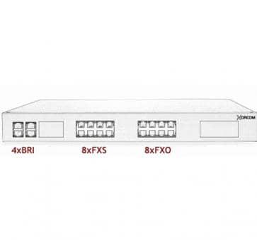 Xorcom Astribank - 4 BRI + 8 FXS + 8 FXO - XR0096