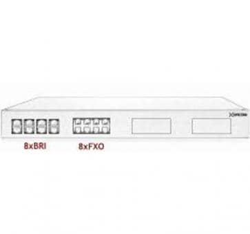 Xorcom Astribank - 8 BRI + 8 FXO - XR0099 - 1U