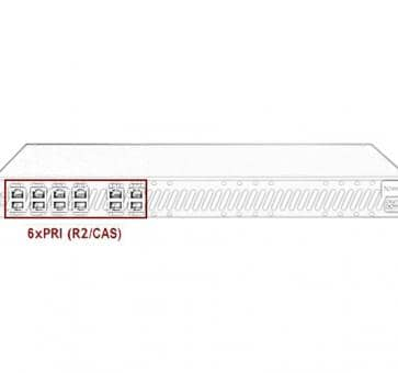Xorcom Astribank - 6 PRI - XR0110 - 1U
