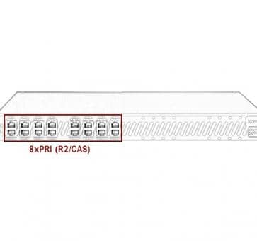 Xorcom Astribank - 8 PRI - XR0111 - 1U