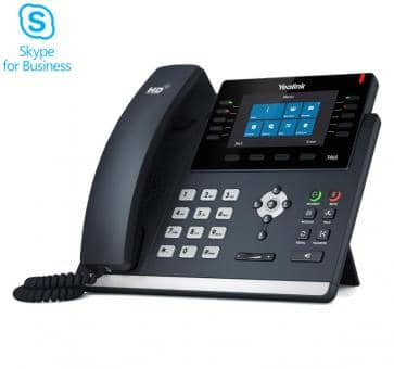 Yealink SIP-T46S IP Phone Skype for Business (no PSU)