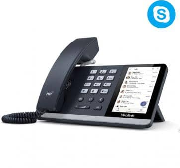 Yealink SIP-T55A IP Telefon Skype for Business (ohne Netzteil)